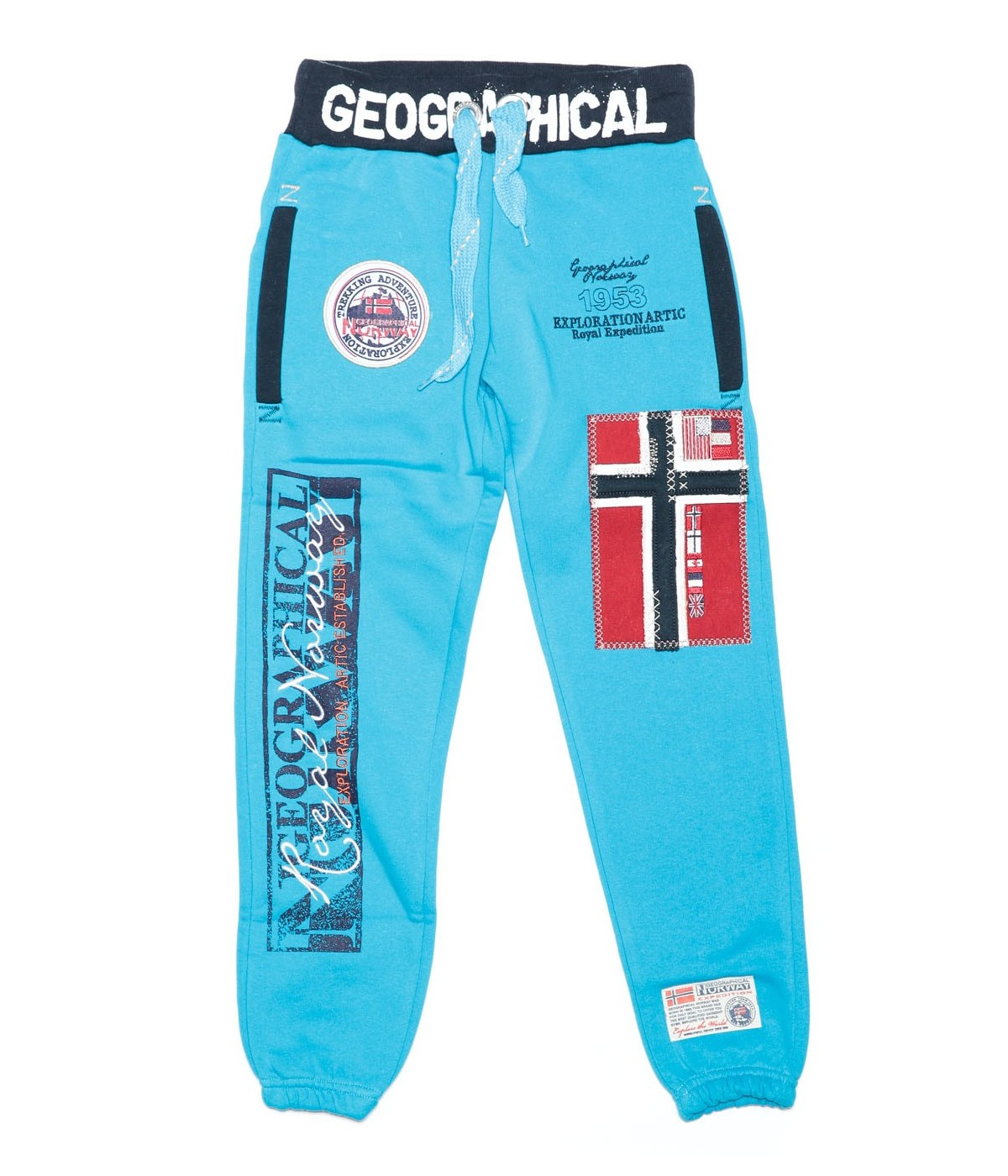 Jogging Enfant Geographical Norway Myer Turquoise