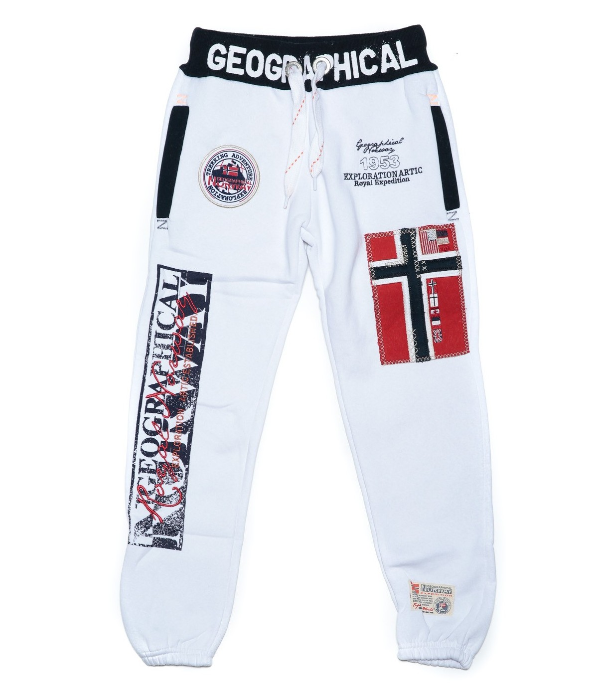 Jogging Enfant Geographical Norway Myer Blanc