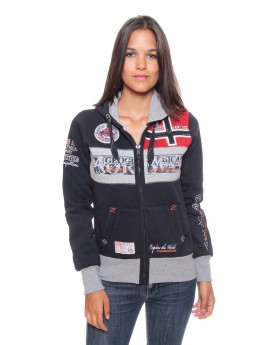 Sweat Femme Geographical Norway Flyer Marine