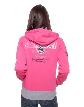 Sweat Femme Geographical Norway Flyer Rose
