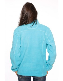 Polaire Femme Geographical Norway Trust Bleu Turquoise