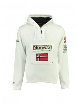 Sweat Geographical Norway Gymclass Blanc
