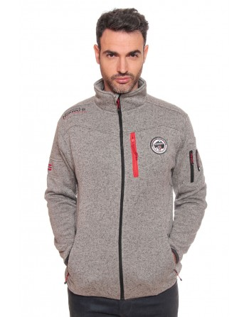 Polaire Geographical Norway Uldrick Gris Clair