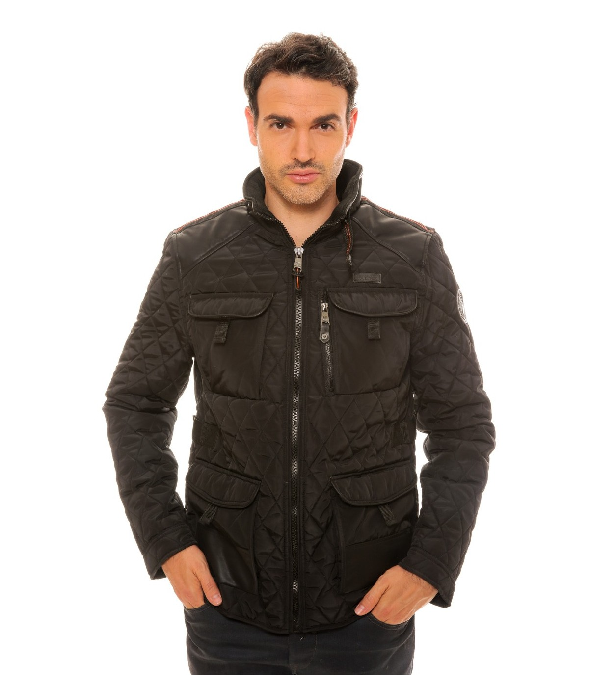 Doudoune Geographical Norway Alfy Noir