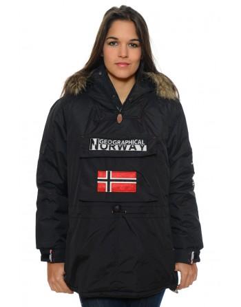 Parka Femme Geographical Norway Bulbeuse Noir