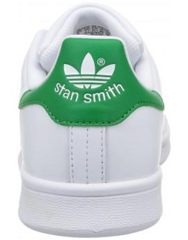 Basket Homme Adidas Stan Smith Blanc Vert