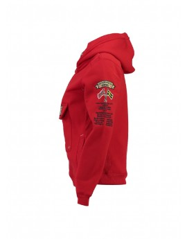 Sweat Geographical Norway Gymclass Rouge