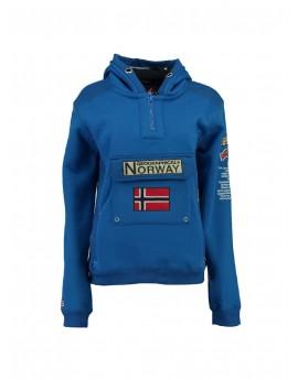Sweat Geographical Norway Gymclass Bleu