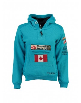 sweat homme canadian peak galapagos turquoise. Black Bedroom Furniture Sets. Home Design Ideas
