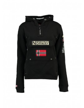 Sweat Enfant Geographical Norway Gymclass Noir