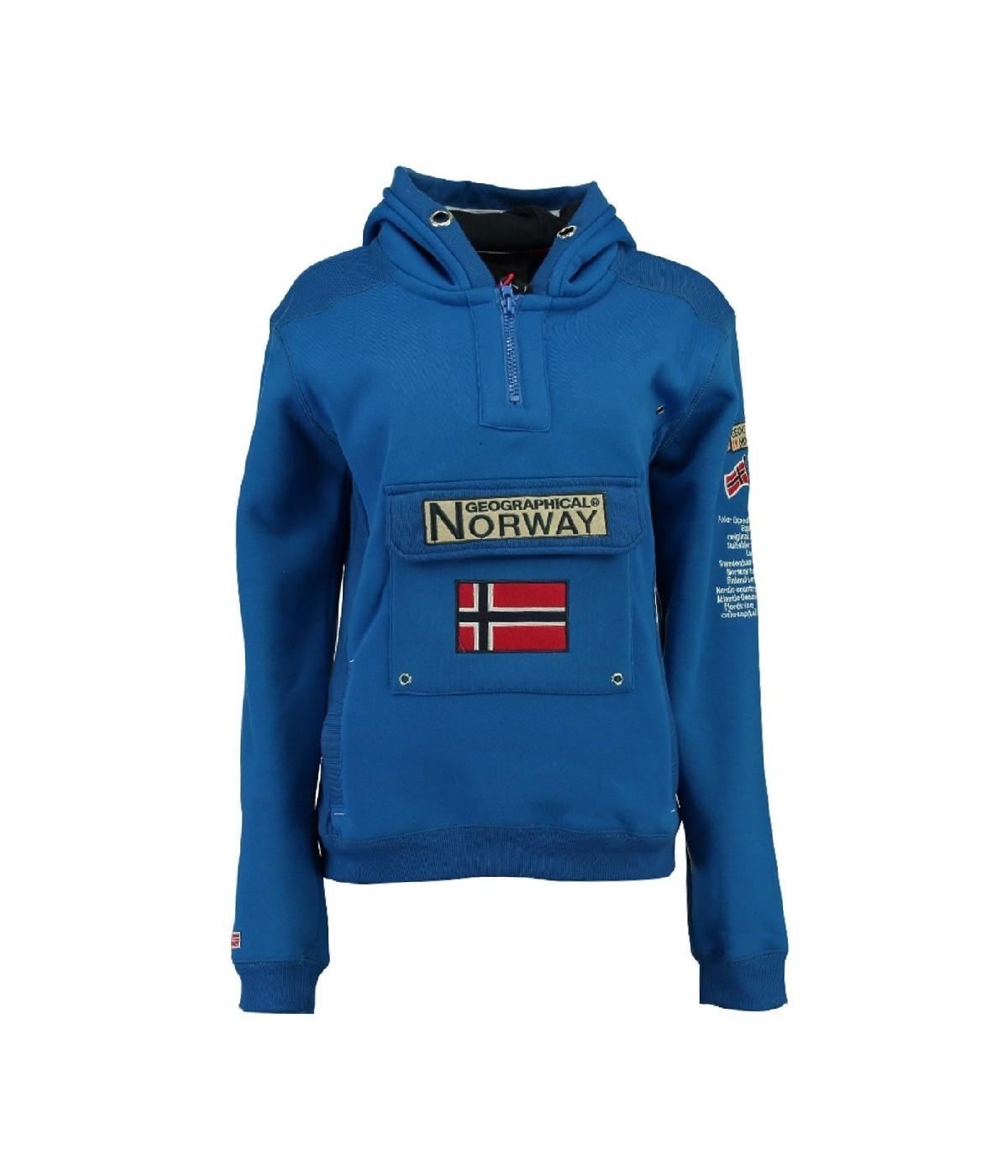 Sweat Enfant Geographical Norway Gymclass Bleu