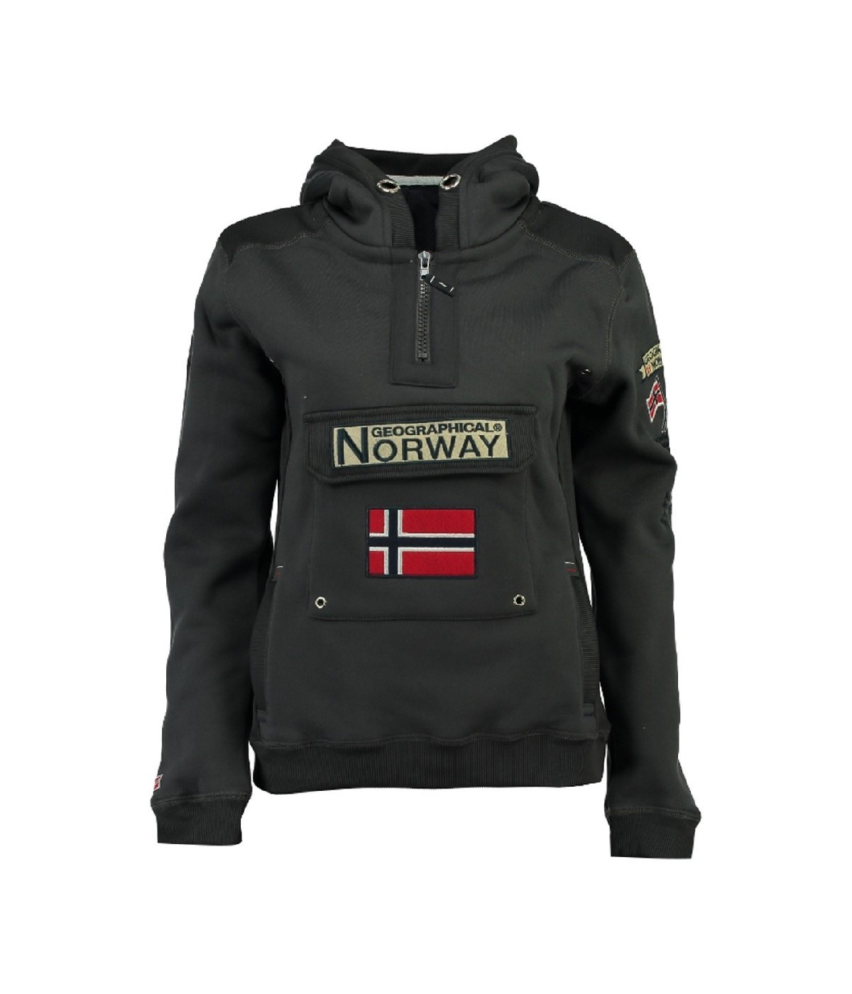 Sweat Enfant Geographical Norway Gymclass Gris