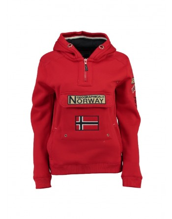 Sweat Enfant Geographical Norway Gymclass Rouge