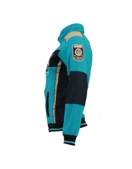 Sweat Enfant Geographical Norway Gavrilos Turquoise