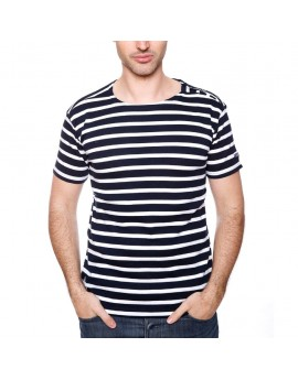 Tshirt Homme Geographical Norway Jumper Marine