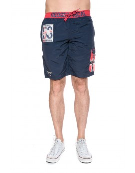 Maillot de Bain Homme Geographical Norway Quisky Marine