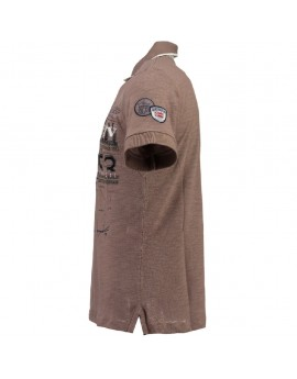 Polo Enfant Geographical Norway Kagatel Taupe
