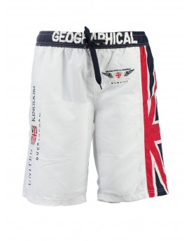 Maillot de Bain Garà§on Geographical Norway Quol Blanc