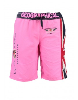 Maillot de Bain Garà§on Geographical Norway Quol Rose