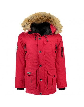 Parka Geographical Norway Boeing Rouge
