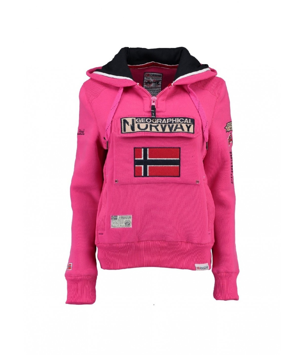 Sweat Femme Geographical Norway Gymclass Rose