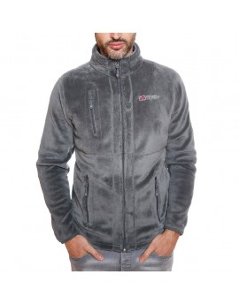 Polaire Homme Geographical Norway Upload Gris