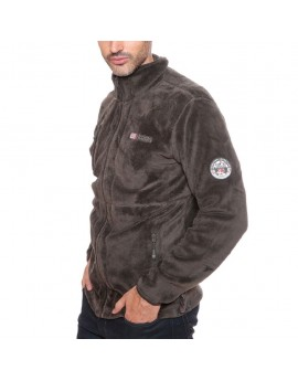 Polaire Homme Geographical Norway Upload Marron