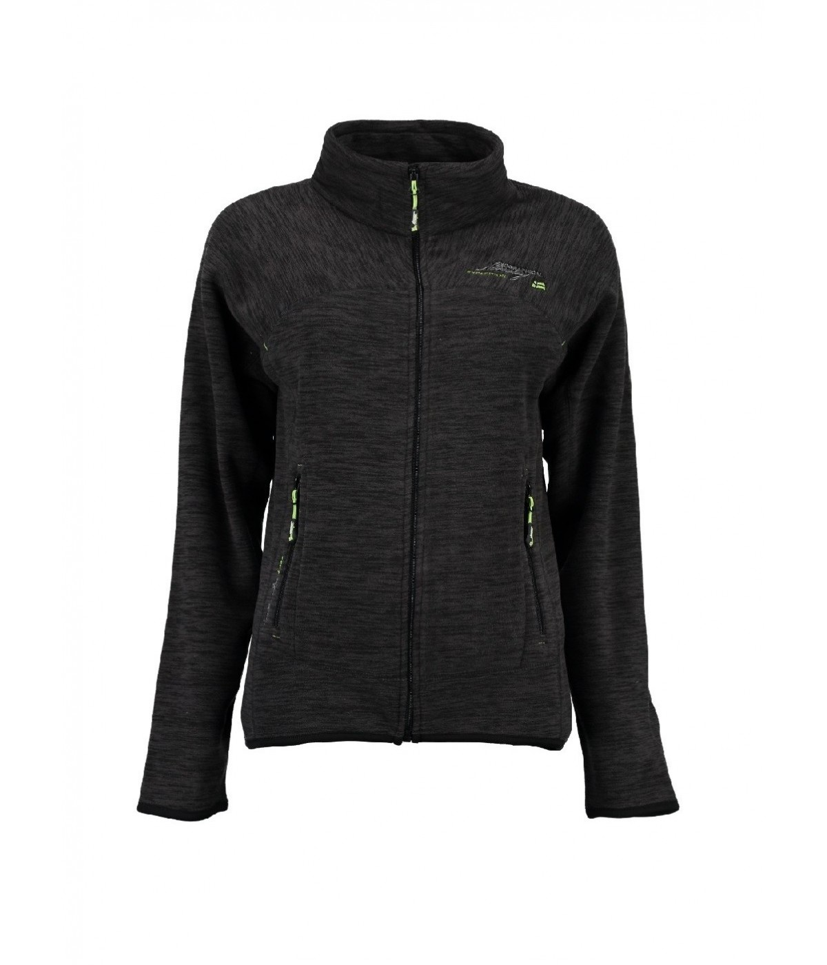 Polaire Femme Geographical Norway Talisman Noir