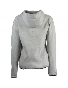 Sweat à capuche Femme Geographical Norway Fashionista Gris Clair