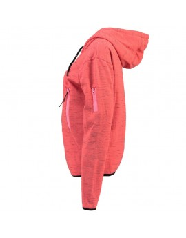 Sweat à capuche Femme Geographical Norway Fashionista Corail