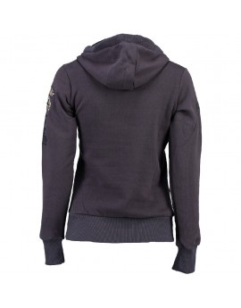 Sweat à capuche Femme Geographical Norway Gymclass Gris