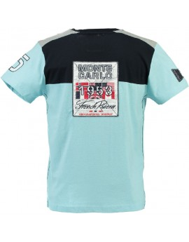 T-shirt Homme Geographical Norway Javalien Bleu