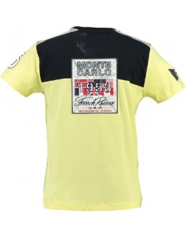 T-shirt Homme Geographical Norway Javalien Jaune