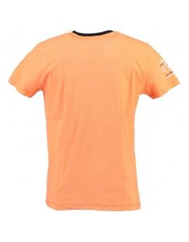 T-shirt Homme Geographical Norway Jeliroubia Orange