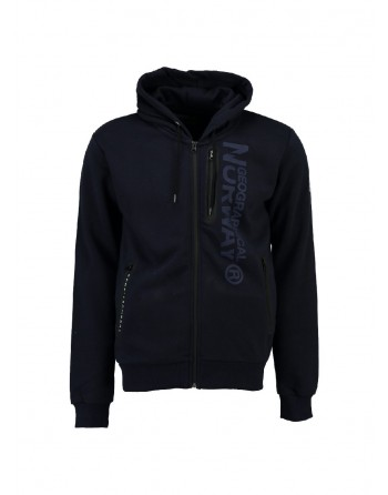Sweat àcapuche Enfant Geographical Norway Fascarade Marine