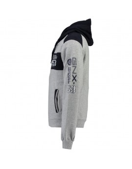 Sweat à capuche Enfant Geographical Norway Glapping Gris