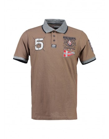 Polo Enfant Geographical Norway Kantibe Taupe