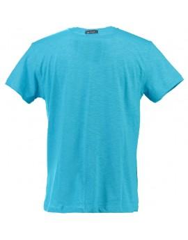T-shirt Enfant Geographical Norway Jantartic Turquoise