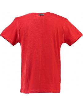 T-shirt Enfant Geographical Norway Jantartic Rouge