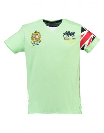T-shirt Enfant Geographical Norway Jaspire Vert