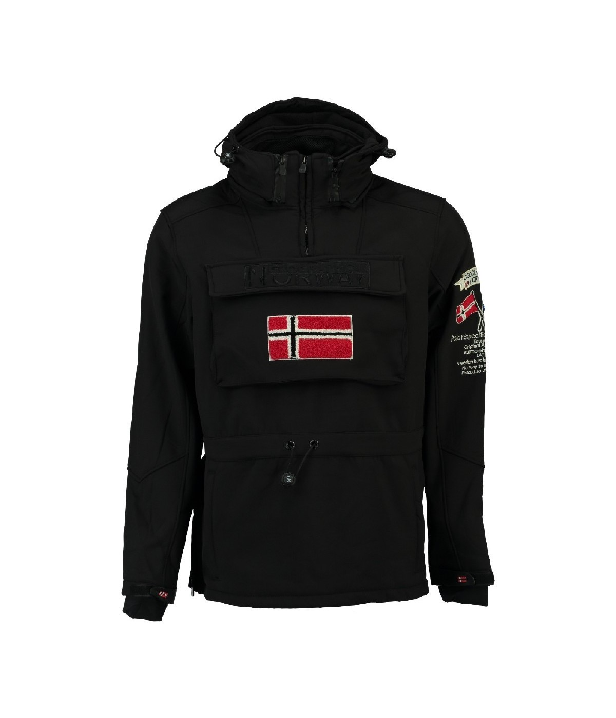 Softshell Homme Geographical Norway Terreaux Noir