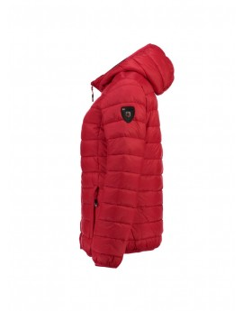 Doudoune Fille Geographical Norway Alya Hood Rouge