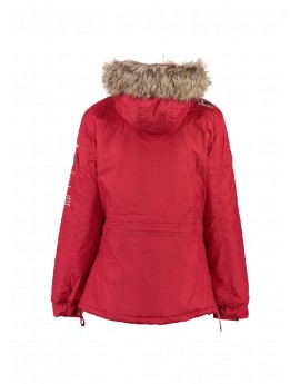 Parka Fille Geographical Norway Boomera Rouge