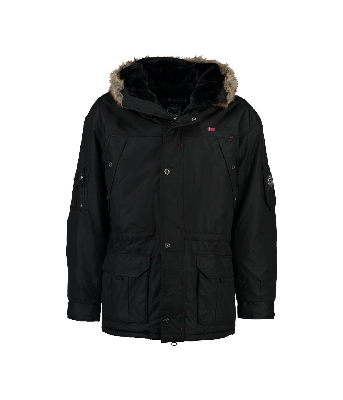 Parka Homme Geographical Norway Anaconda Noir