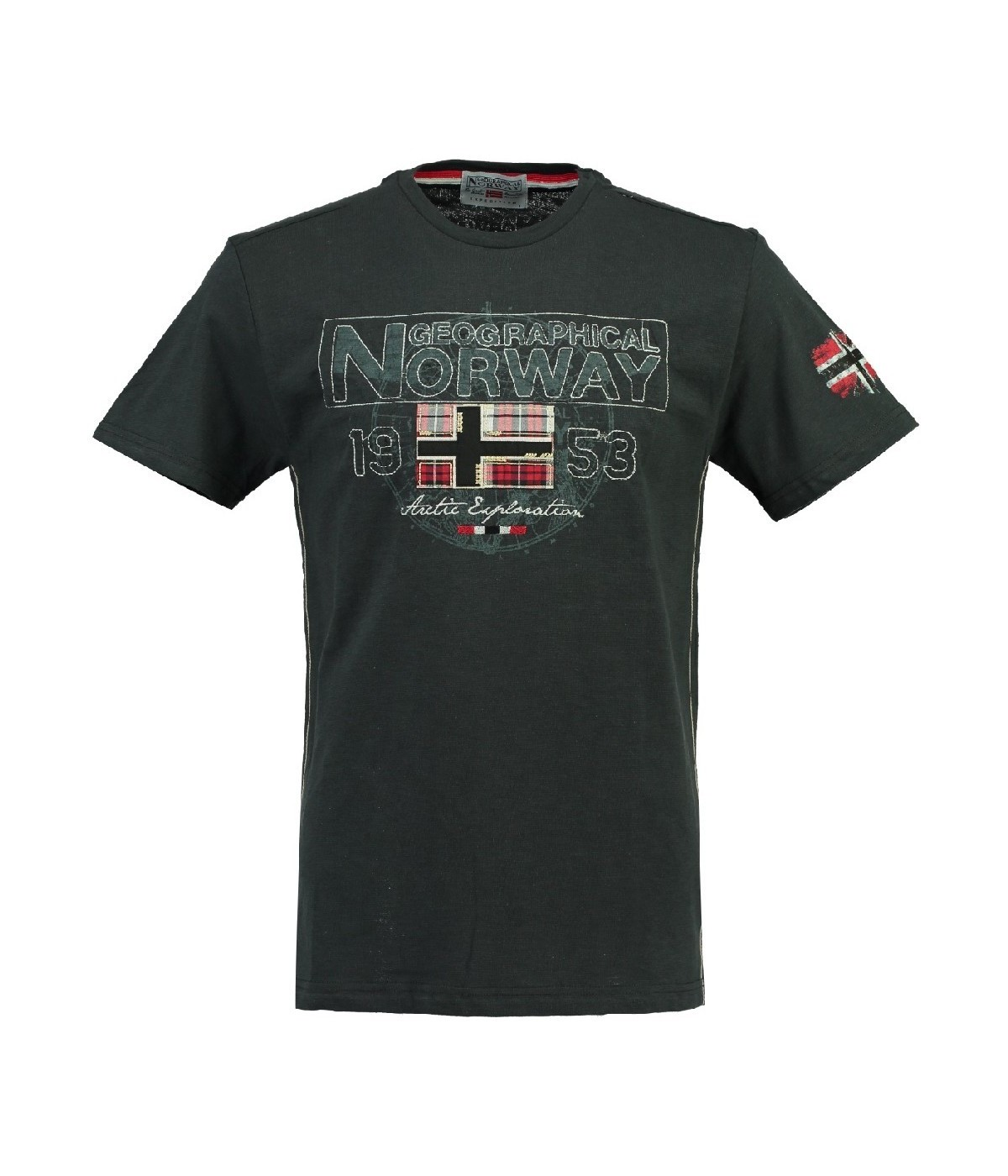 Tshirt Enfant Geographical Norway Jamelo Gris