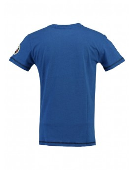 Tshirt Enfant Geographical Norway Jortelo Bleu