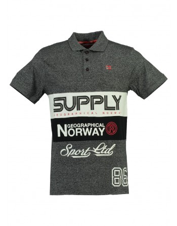 Polo Enfant Geographical Norway Karchie Noir