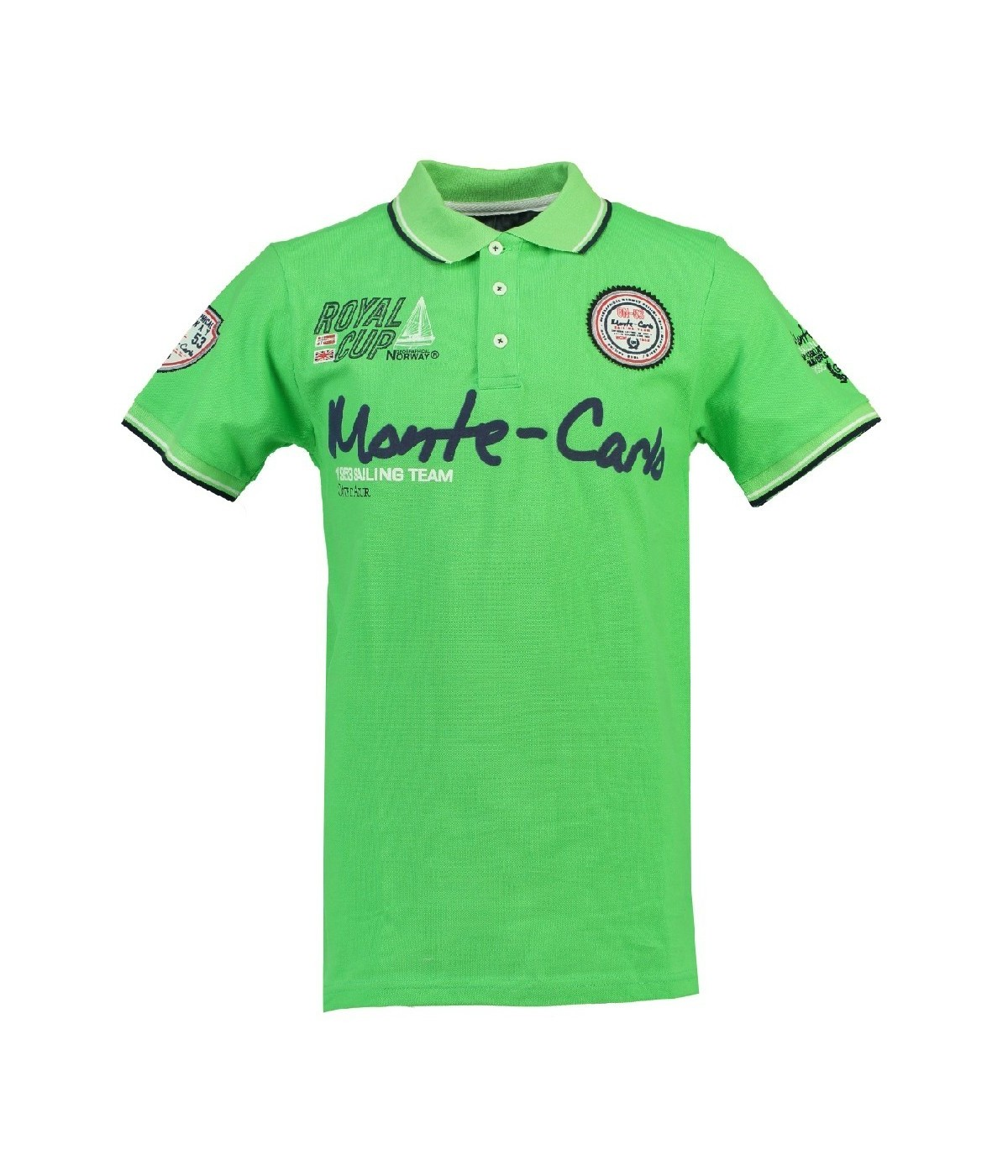 Polo Enfant Geographical Norway Karo Vert