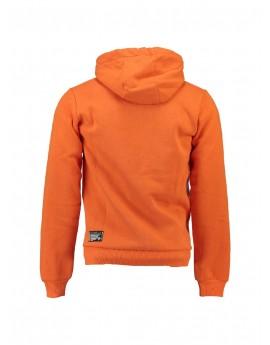 Sweat Enfant Geographical Norway Gasado Orange