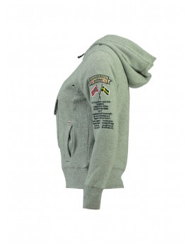 Sweat Enfant Geographical Norway Gymclass Gris Clair